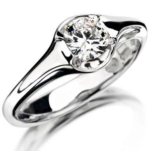 anello oro e brillante