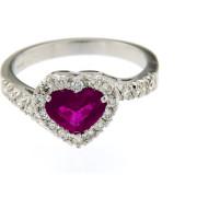 Rubino e diamanti